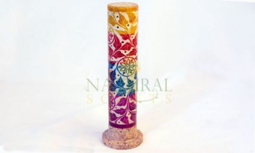 Soapstone Incense Burner Tower