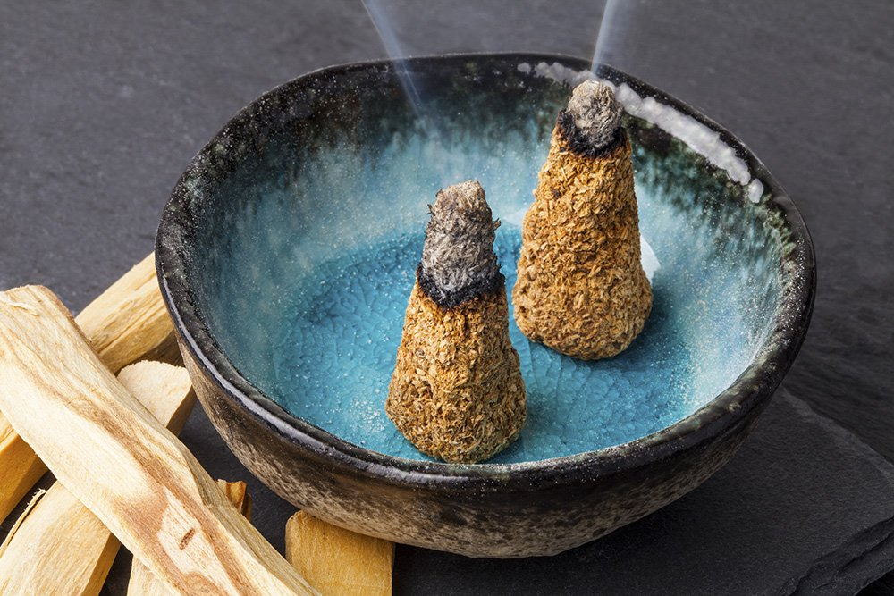 Natural Rain Incense Cones