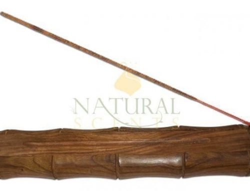 Bamboo Incense Sticks Burner, Naturally Made