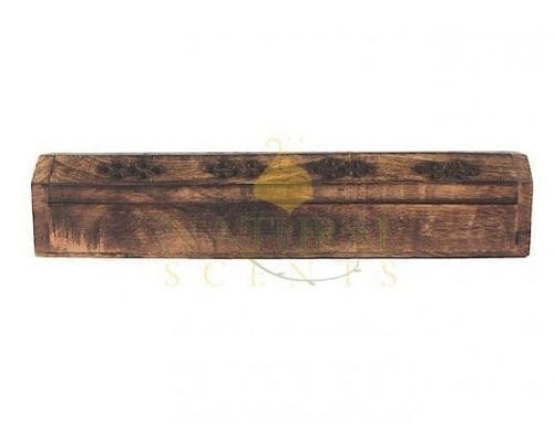 Incense Sticks and Cones Burner Plain Coffin Box