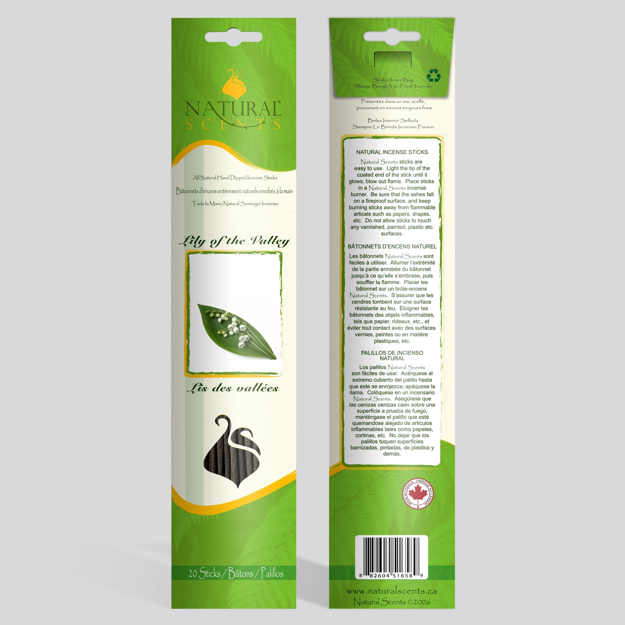 Lily of the Valley Incense Sticks